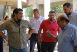 BERAZATEGUI: MUSSI RECORRIÓ ESCUELAS PARA ANALIZAR FALTANTES EDILICIAS