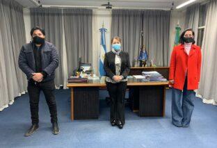 PTE. PERÓN: REUNIÓN ENTRE CANTERO Y AUTORIDADES DE ANSES