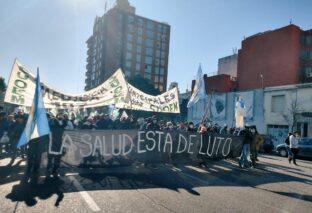 CÓRDOBA: NUEVA MARCHA DE PROFESIONALES DE LA SALUD