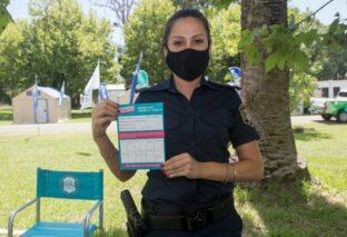 BERAZATEGUI: YA APLICAN LA VACUNA CONTRA EL COVID-19 AL PERSONAL POLICIAL