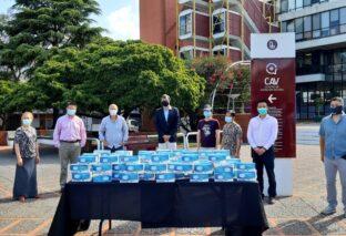 EL MUNICIPIO DE LANÚS RECIBIÓ UNA DONACIÓN DE 20 MIL BARBIJOS PARA EL PERSONAL DE SALUD