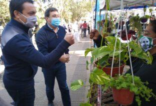 CANASTA AHORRO: WATSON ACOMPAÑÓ A ARROYO EN SU VISITA A FLORENCIO VARELA