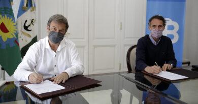 CASCALLARES Y KATOPODIS FIRMARON UN ACUERDO PARA DAR INICIO UNA IMPORTANTE OBRA EN LONGCHAMPS