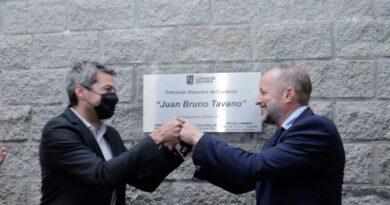 AUTORIDADES INAUGURARON EL GIMNASIO DE DEPORTES DE CONTACTO «BRUNO TAVANO»